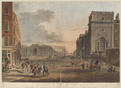 A View of College Green, Dublin